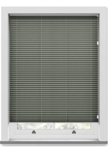 Pleated Free hanging Blinds Mirabella Solar Crush Pewter Sheen