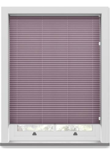 Pleated Free hanging Blinds Mirabella Solar Crush Plum