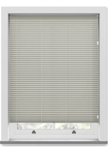 Pleated Free hanging Blinds Mirabella Solar Crush Silver Grey