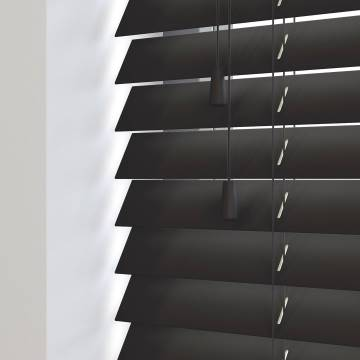 Wooden Blinds Mississippi Black