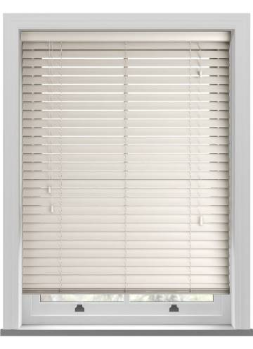 Wooden Blinds Mississippi Cream