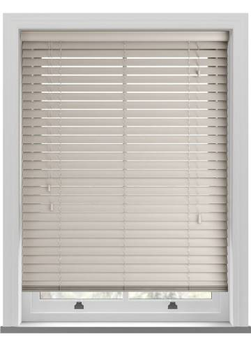 Wooden Blinds Mississippi Dove Grey