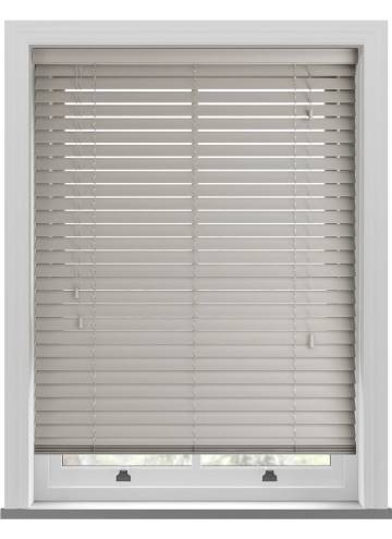 Wooden Blinds Mississippi Steel Grey