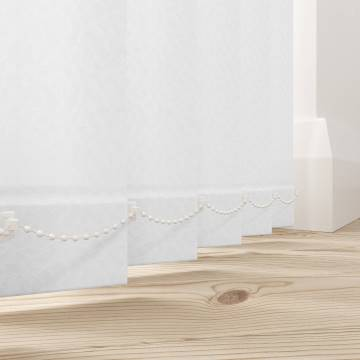 Replacement Vertical Blind Slats Monarch White
