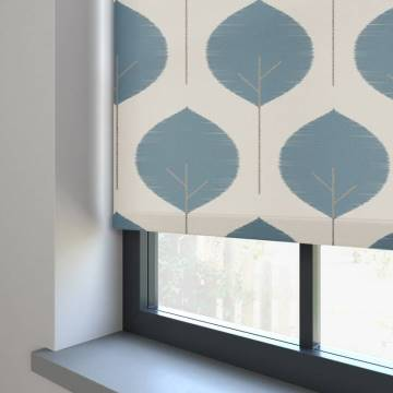 Electric Roller Blinds Musa Neptune Blue