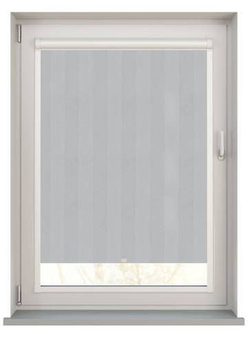 Perfect Fit Roller Blinds Napa Blackout Mid Grey