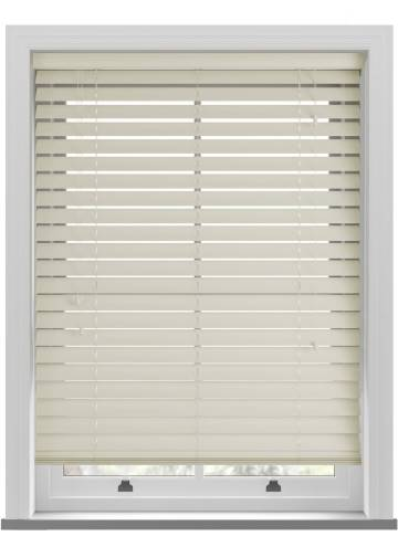 Wooden Blinds Nile 63mm Oyster