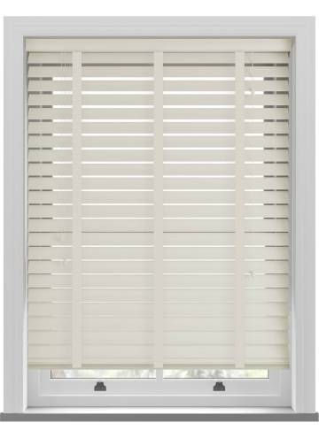 Wooden Blinds Nile 63mm Taped Oyster