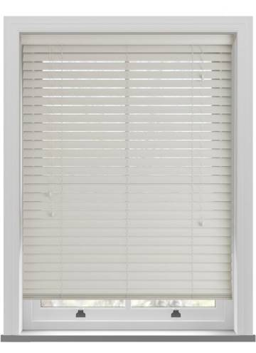 Wooden Blinds Nile Light Taupe
