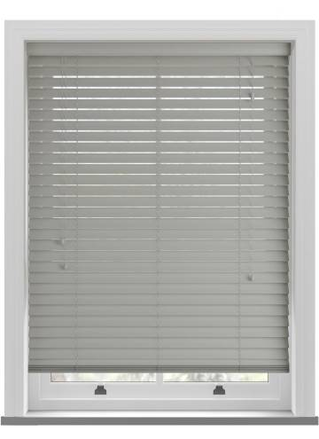 Wooden Blinds Nile Mid Grey