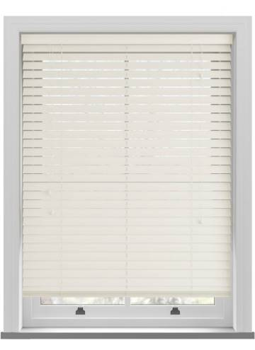 Wooden Blinds Nile Pearl White