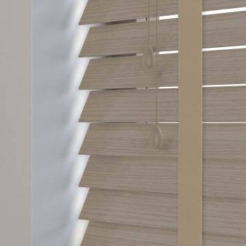 Wooden Blinds Nile Taped Grained Driftwood