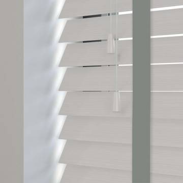Wooden Blinds Nile Taped Grained Greywash