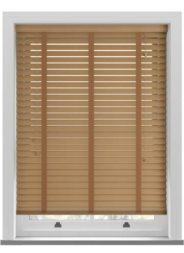 Wooden Blinds Nile Taped Sugar Maple