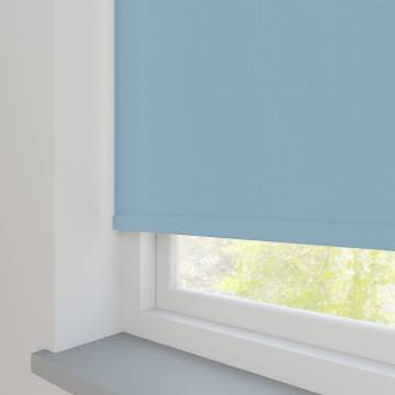 Electric Roller Blinds Oslo Blackout Brittany Blue