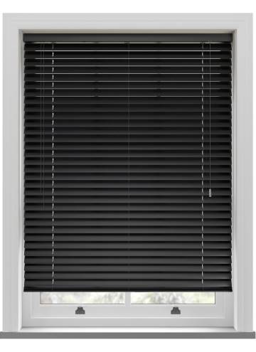 Venetian Blinds Pisa 50mm Black