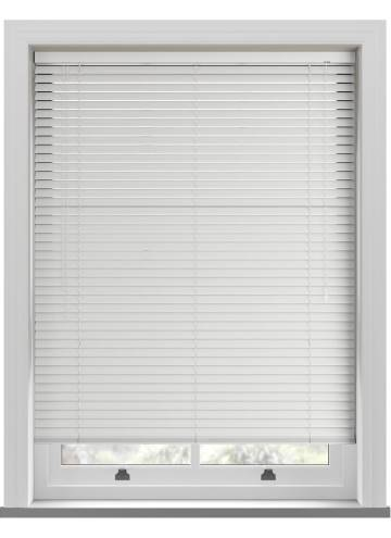 Venetian Blinds Rainbow 35mm Matt White TR0065