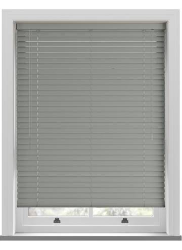 Venetian Blinds Rainbow 50mm Light Grey TR0012