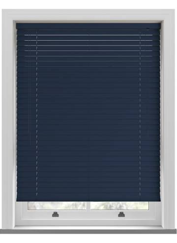 Venetian Blinds Rainbow 50mm Midnight Blue TR0258