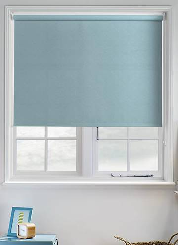 Roller Blinds Ribbons Solar Teal