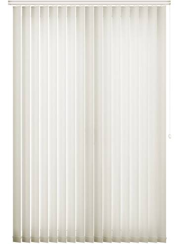 Vertical Blinds Ripple Chalk