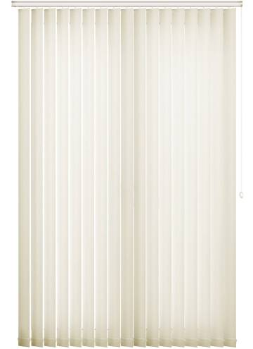 Vertical Blinds Ripple Cream