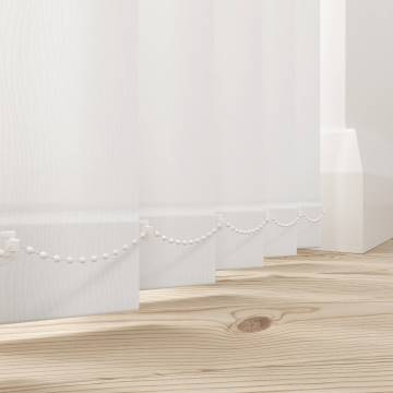 Vertical Blinds Ripple White