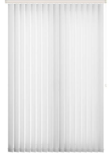 Replacement Vertical Blind Slats Ripple White