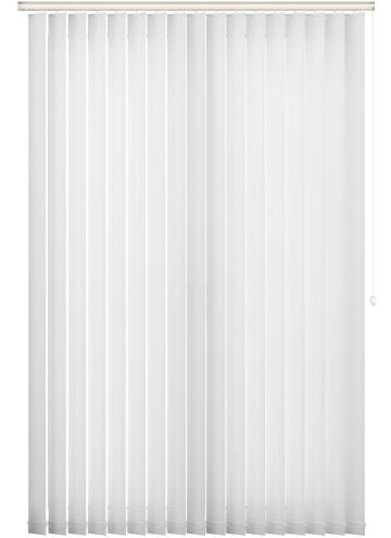 Vertical Blinds Rossini White