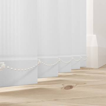 Replacement Vertical Blind Slats Rossini White