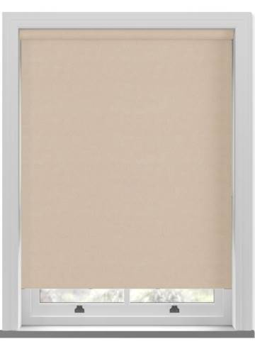 Roller Blinds Samba PVC Blackout Cream