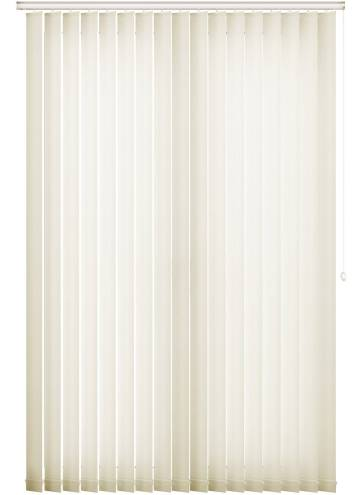 Replacement Vertical Blind Slats Senna Cream