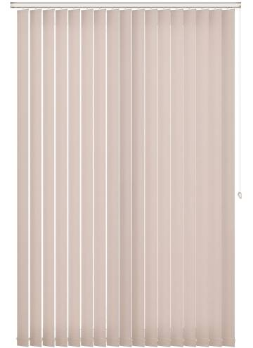 Vertical Blinds Shimmer Blackout Cream