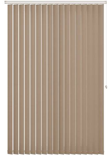 Vertical Blinds Shimmer Blackout Gold