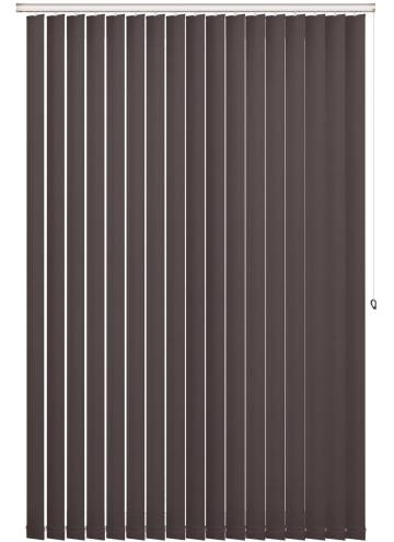 Replacement Vertical Blind Slats Shimmer Blackout Granite Grey