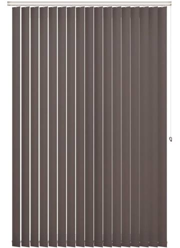 Replacement Vertical Blind Slats Shimmer Blackout Zinc