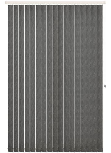 Replacement Vertical Blind Slats Sio Charcoal