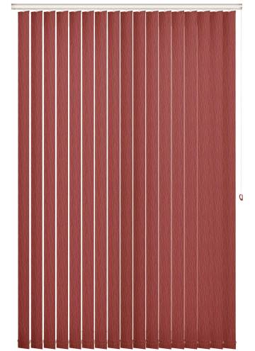 Vertical Blinds Sio Rocoto Red