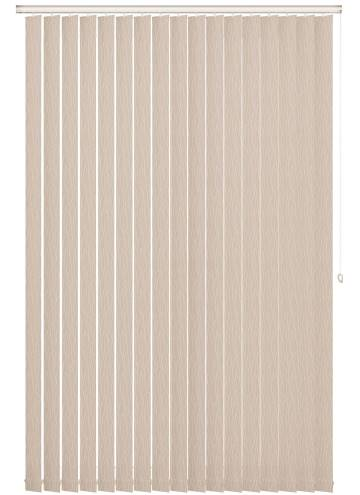 Replacement Vertical Blind Slats Sio Stucco Cream