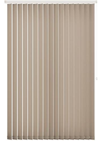 Vertical Blinds Splash Almond