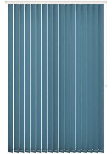 Replacement Vertical Blind Slats Splash Azure Blue