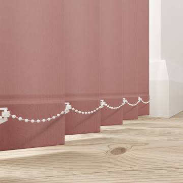 Vertical Blinds Splash Blush Pink