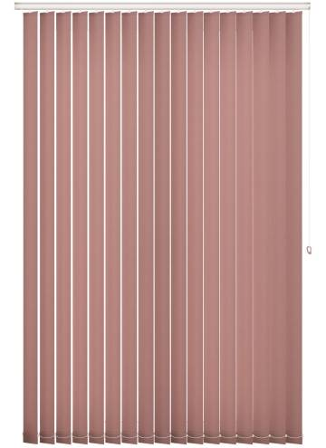 Replacement Vertical Blind Slats Splash Blush Pink