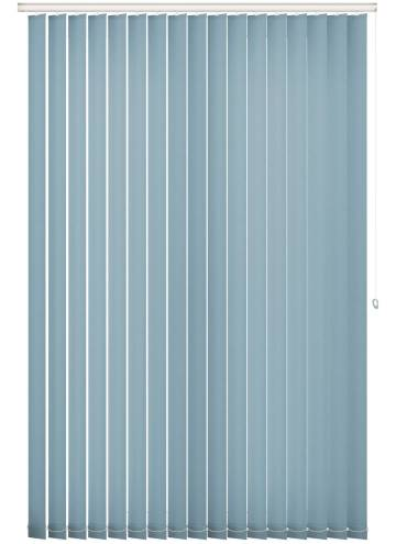 Replacement Vertical Blind Slats Splash Brittany Blue