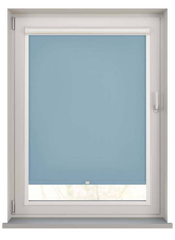 Perfect Fit Roller Blinds Splash Brittany Blue