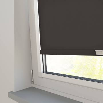 Perfect Fit Roller Blinds Splash Chocolate Brown