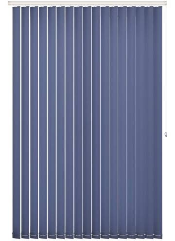 Replacement Vertical Blind Slats Splash Classic Blue