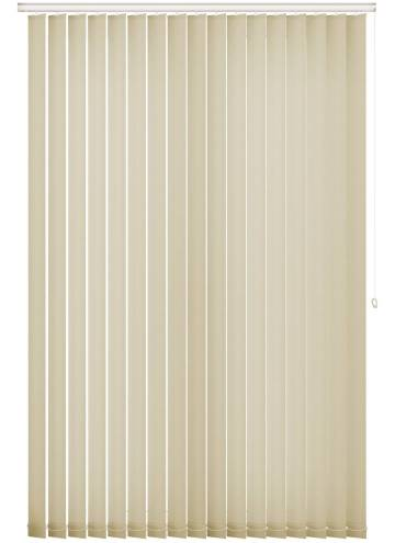 Replacement Vertical Blind Slats Splash Cream