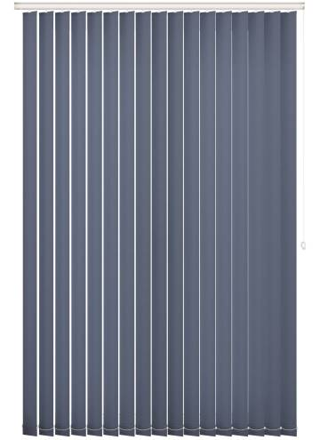 Vertical Blinds Splash Indigo Blue
