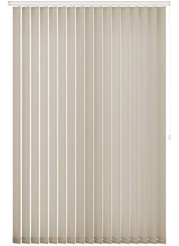 Replacement Vertical Blind Slats Splash Ivory Off-White